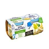 NATURNES SELECCIÓN POTITO MANZANA GOLDEN Y PLÁTANO 2 Ud 200g de Nestle Naturnes