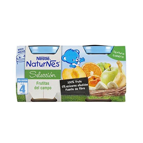 NATURNES SELECCIÓN POTITO FRUTITAS DEL CAMPO 2 Ud 200g de Nestle Naturnes