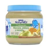 NATURNES SELECCIÓN POTITO MANZANA, PLÁTANO Y NARANJA 190g de Nestle Naturnes