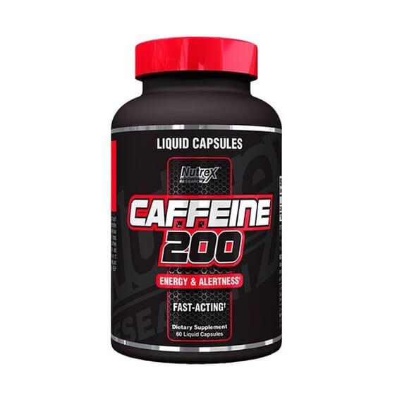 CAFFEINE 200 60 VCaps de Nutrex