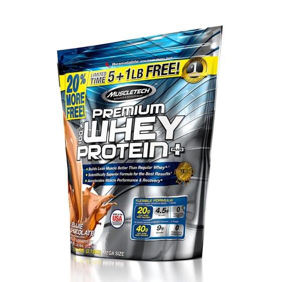 100% PREMIUM WHEY PROTEIN PLUS + 20% GRATIS 2720g de Muscletech