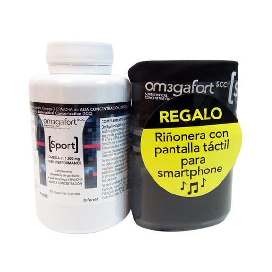 OM3GAFORT SPORT 60 Caps + RIÑONERA GRATIS