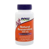 NATURAL RESVERATROL 200mg 60 VCaps de Now Foods