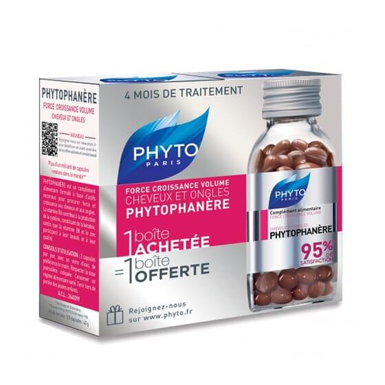 PHYTOPHANERE CABELLO Y UÑAS 2X1 2 Ud de 120 Caps de Phyto