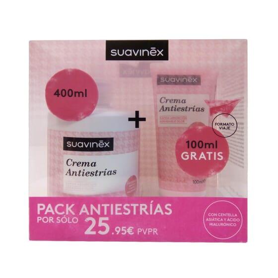 PACK CREMA ANTIESTRÍAS 400ml + 100ml GRATIS de Suavinex