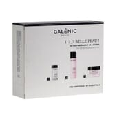 PACK 1, 2, 3 BELLE PEAU ! 3 PCS EXFOLIANT + LOTION + BOOSTER D'ÉCLAT