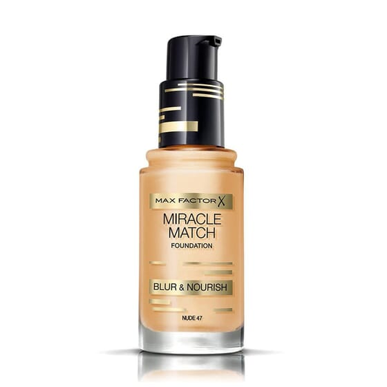Miracle Match Foundation #47 Nude 30 ml di Max Factor