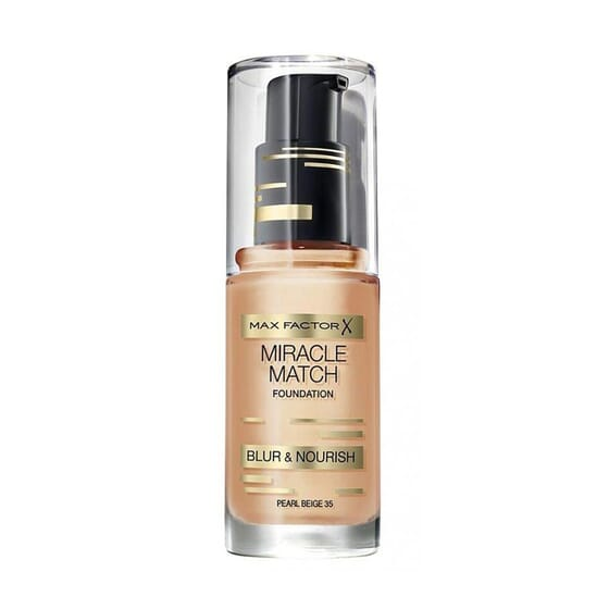 MIRACLE MATCH FOUNDATION #55 BEIGE 30 ML de Max Factor