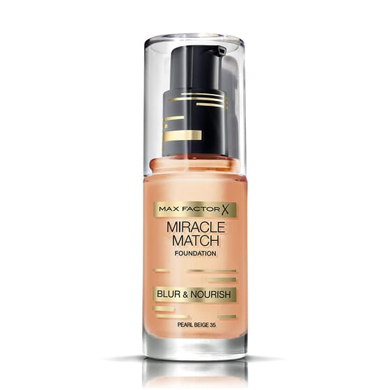 Miracle Match Foundation #35 Pearl Beige 30 ml di Max Factor