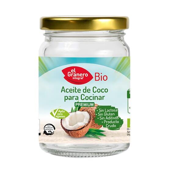 ACEITE DE COCO PARA COCINAR BIO 500ml de El Granero Integral