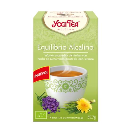 EQUILIBRIO ALCALINO BIO 17 Infusiones de Yogi Tea