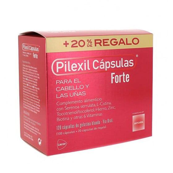 PILEXIL FORTE CÁPSULAS ANTICAÍDA + 20% REGALO 120 Caps