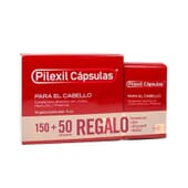 PILEXIL CÁPSULAS ANTICAIDA + REGALO 50 CÁPSULAS 200 Caps