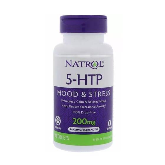 5-HTP MOOD AND STRESS 200mg 30 Tabs de Natrol