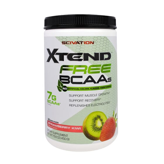 XTEND FREE BCAAS 450g da Scivation