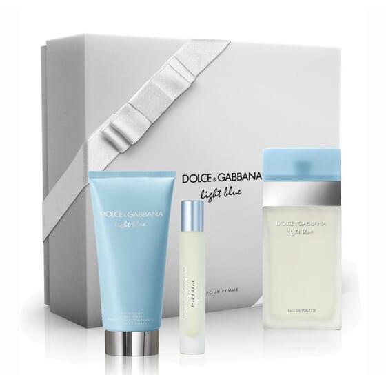 LIGHT BLUE EDT LOTE 3 PZ de Dolce & Gabbana