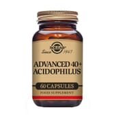Advanced 40+ Acidophilus 60 Vcaps da Solgar