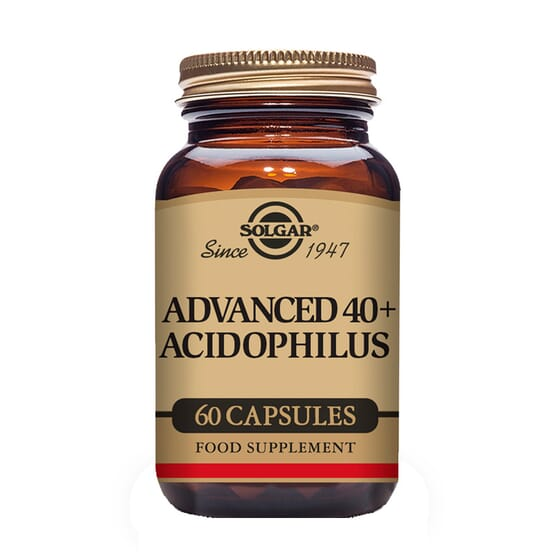 Advanced 40+ Acidophilus 60 Vcaps de Solgar