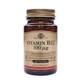 VITAMIN B12 100mcg 100 Tabs de Solgar