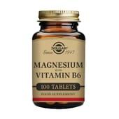 Magnesio con Vitamina B6 100 Tabs de Solgar