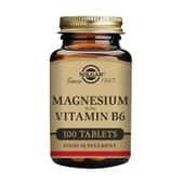 Magnésium Vitamine B6 100 Tabs de Solgar