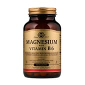 Magnésio com Vitamina B6 250 Tabs da Solgar