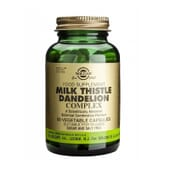 Milk Thistle Dandelion Complex 50 VCaps de Solgar