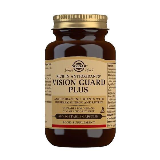 Vision Guard Plus 60 Vcaps de Solgar
