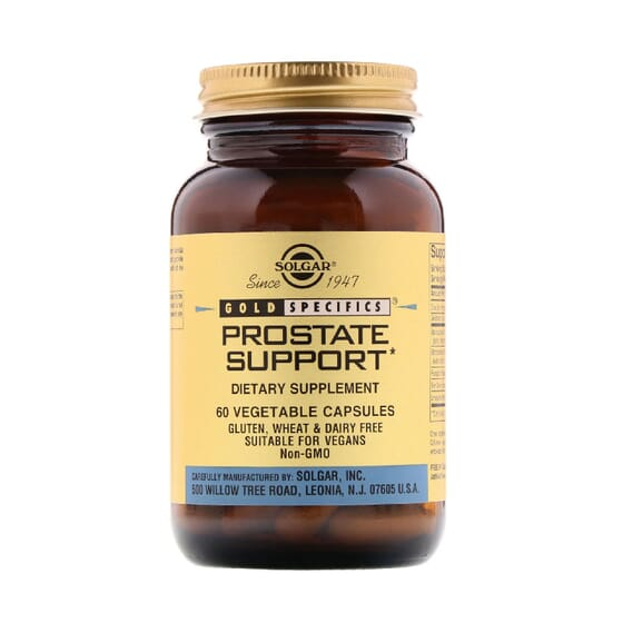 Gold Specifics Prostate Support 60 VCaps de Solgar