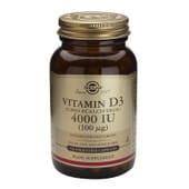 VITAMIN D3 4000 UI 120 Vcaps de Solgar