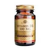Vitamin B6 100 mg 100 VCaps de Solgar