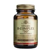 Vitamina B Complex 50 50 Vcaps da Solgar
