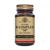 Vitamina B Complex 50 100 Vcaps de Solgar