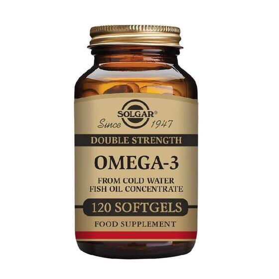OMEGA 3 DOBLE STRENGTH 120 perlas de Solgar