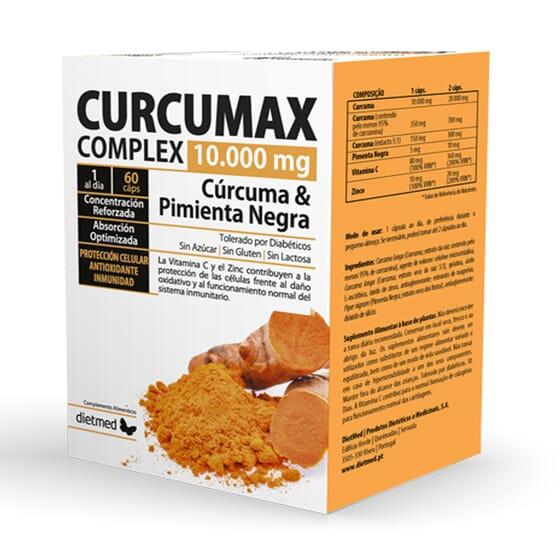 CURCUMAX COMPLEX 10.000mg 60 Caps de Dietmed