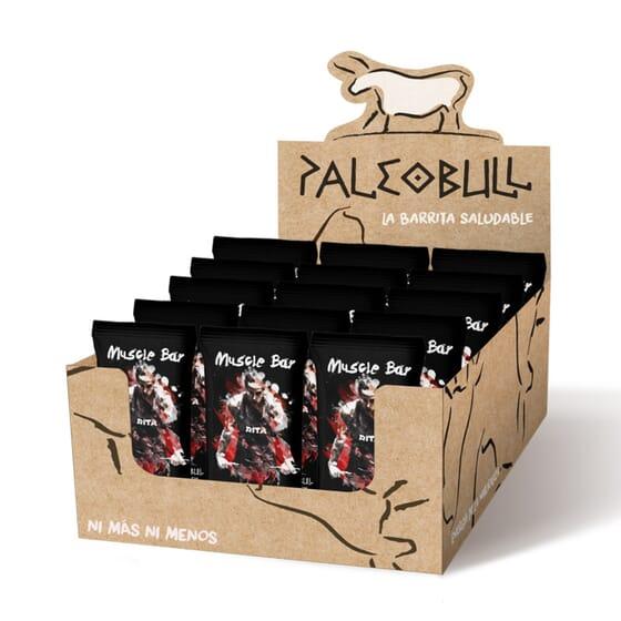 PALEOBULL MUSCLE BAR CROSSFIT 15 Barritas de 50g