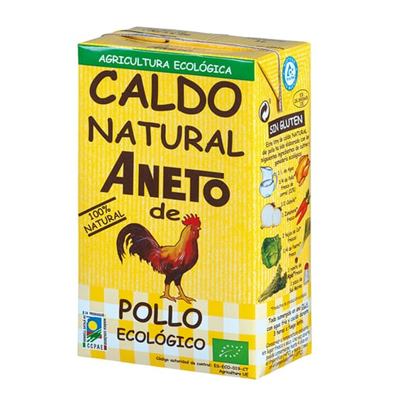 CALDO NATURAL DE POLLO BIO 1000ml de Aneto