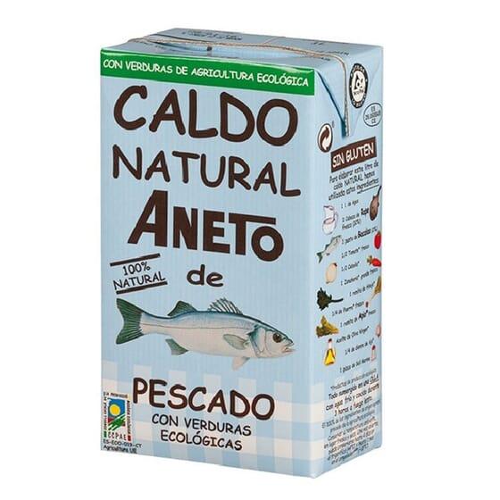 CALDO NATURAL DE PESCADO CON VERDURAS BIO 1000ml de Aneto