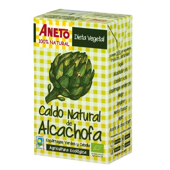CALDO NATURAL DE ALCACHOFA BIO 1000ml de Aneto