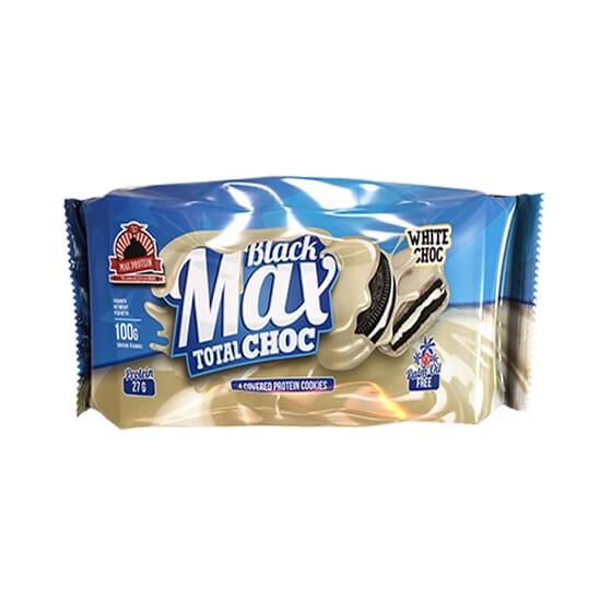BLACK MAX TOTAL CHOC CHOCOLATE BLANCO 1 Pack de 100g de Max Protein