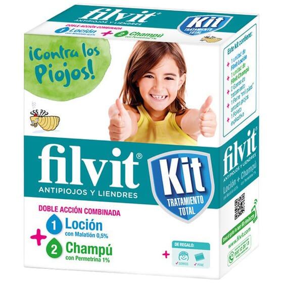 FILVIT KIT TRATAMIENTO TOTAL 1 Packs