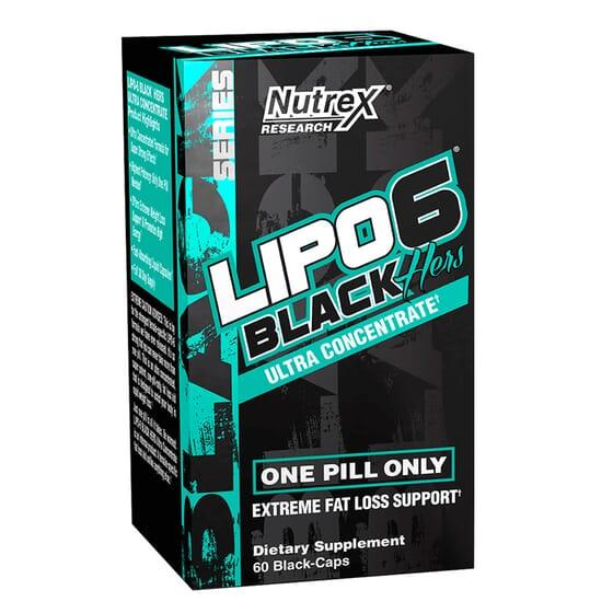 LIPO 6 BLACK HERS ULTRA CONCENTRATE 60 Caps da Nutrex