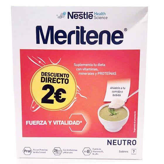 MERITENE NEUTRO 50g 7 Sobres de Meritene