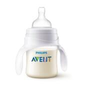 TASSE D'APPRENTISSAGE ANTI-COLIQUES AVEC ANSES 4M+ 125 ml Avent