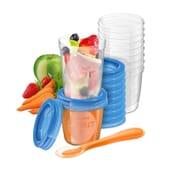 Bicchieri Di Conservazione Da Portare Con Sé + Cucchiaio + Ricette 1 Packs de Avent