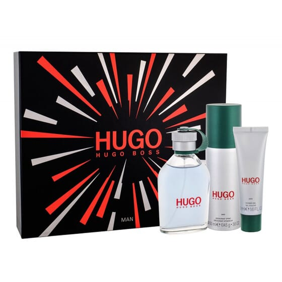 HUGO MAN EDT LOTE 3 PZ de Hugo Boss