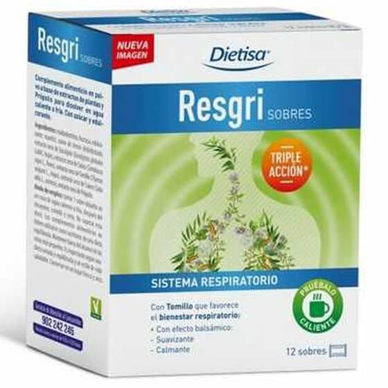 RESGRI 12 Sobres 8g de Dietisa