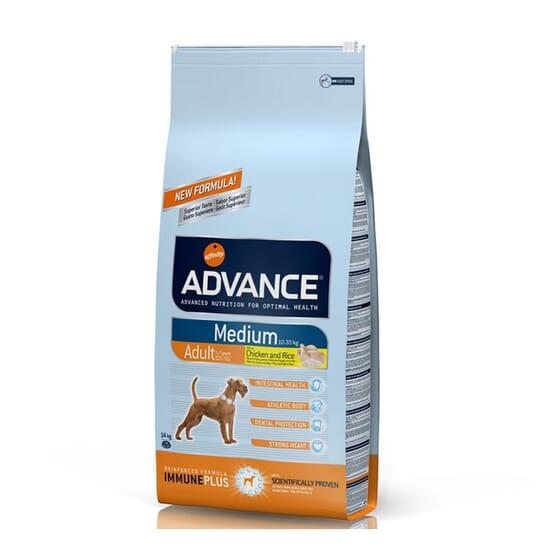 Dog Medium Adult Pollo y Arroz 3 Kg de Advance