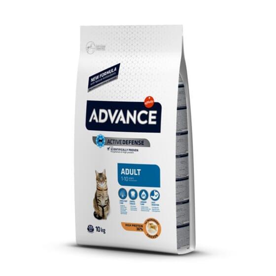 Comida Para Gatos Adult Pollo y Arroz 3 Kg de Advance