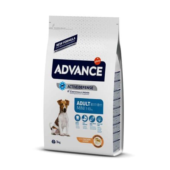 Ração Para Cães Mini Adult Frango e Arroz 3 Kg da Advance